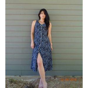 🆕🌸Vintage Babydoll Lace Floral Dress